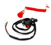 UNIVERSAL MOTORCYCLE TETHER KILL SWITCH COIL CORD  MPS RACING DEAD MAN/'S TETHER