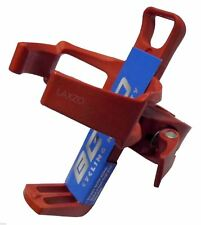 Bicycle Water Bottle Adjustable Holder Cage with Quick Release Clamp Beto Red