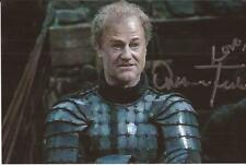 GAME OF THRONES * OWEN TEALE 'SER ALLISTER THORNE' SIGNED 6x4 ACTION PHOTO+COA