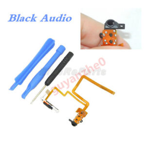 Black Audio Headphone Jack & Hold Switch for iPod classic 7th Gen 160GB
