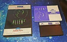 Alien 3 (Sega Master System) PAL OVP cib completamente