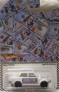 Matchbox CUSTOM '70 DATSUN 510 Money Car Real Riders Limited 1/5 Made