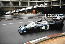 9x6 Photograph Ronnie Peterson , F1 Tyrrell P34 ,  Monaco Grand Prix 1977