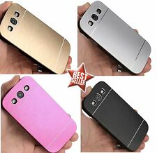 CUSTODIA COVER CASE SLIM IN ALLUMINIO per SAMSUNG GALAXY GRAND NEO I9060 + PENN