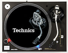 TECHNICS TONE ARM - DJ SLIPMATS (1 PAIR) 1200's or any turntable