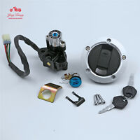 Ignition Switch Gas Cap Cover Key Set Fit For Suzuki GSXR600/750/1000 2004-2015