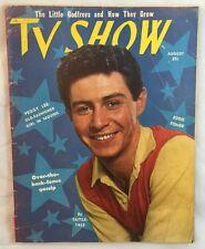 August 1953 TV Show Magazine Peggy Lee Eddie Fisher Godfreys +