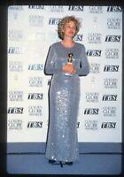 1995 JESSICA LANGE @ Golden Globe Awards Original 35mm Slide Transparency nb