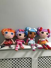 Lalaloopsy Bundle - Soft Toy Plush Doll 4 X La La Loopsy  Set Group VGC