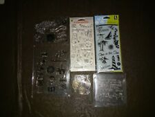 6 Bulked  Used Clear Stamp Sets