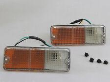 1986-1993 Mazda B2000 B2200 B2600 Bravo PAIR PARKING TURN LIGHT LAMP 2Pcs LH&RH