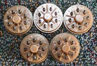 5 PIECES NOS MALE OCTAL PLUG SOCKET BASE 8 PIN PHENOL RELAY AMP HAM RADIO TUBE