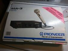 Pioneer MA-3 Karaoke Mixer w/ Digital Echo - Mint Used Condition