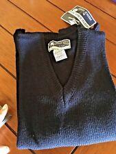 FRENCH TOAST School Uniform Boys Girls Navy Blue V-Neck Longsleeve Sweater 16