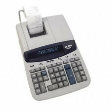 Victor 15606 Printing Calculator - 12 Character[s] - Fluorescent - Ac Supply