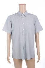 (Used) Mens Ermenegildo Zegna Short Sleeve Shirt Size: XL Checks