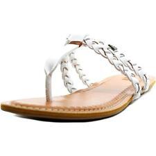 Sandalias y chanclas de mujer planos ROXY color principal blanco