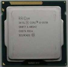 Intel Core i5 3570 3.4GHz LGA1155 SR0T7 4Cores 6M Cache Processor CPU Tested