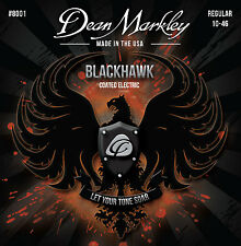 Dean Markley Blackhawk Coated Electric Guitar Strings gauges 10-46