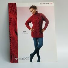 Smart Mohair Berroco #253 Knitting Book Scarfs Sweaters Shawls Pattern Retired