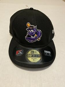 Louisville Bats MiLB New Era 59Fifty Low Crown Cap Hat Mens Size 7 7/8*