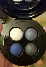 Mac Mineralizado Sombra de Ojos Quad ~ A Espolvorear Blues ~ Discontinuo~ Raro