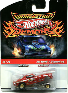 Hot Wheels Drag Strip Demons DICK HARRELL'S '70 CAMARO Funny Car VHTF