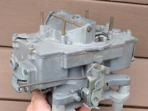 OEM Autolite 4100 4 Barrel Carburetor C6PF-H 1.08 Ford Mercury 4V Carb REAL DEAL