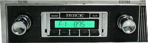 1966 1967 Buick Skylark AM FM Stereo Radio USA-230 200 watts Aux input_