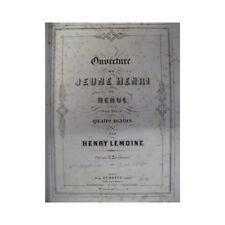 RECUEIL de Pièces pour Piano à 4 mains XIXème siècle partition sheet music score