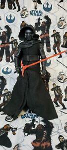 "Star Wars The Black Series Kylo Ren The Force Awakens 6"" Figure Loose Complete"