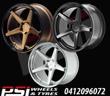 "19"" INCH FERRADA FR3 WHEELS 19X8.5 19x9.5 19X10.5 RIMS HOLDEN HSV COMMODORE"