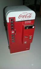 Enesco Metal Scale Coca Cola Machine Moving Musical Bank