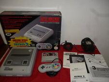 SNES Console Super Nintendo Tetris 2 Bundle Edition PAL ITA _ Snes Edizione ITA