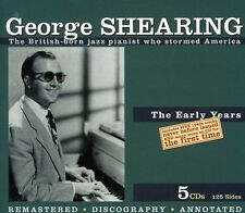 George Shearing Early Years (Box) (Rmst) 5 CD NEW sealed