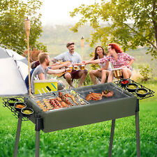 Latest Fordable Bbq Charcoal Grill Backyard Cooker Party Outdoor Picnic Camping