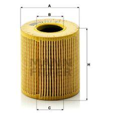 Mann HU711/51x Oil Filter Element Metal Free 69mm Height 64mm Outer Diameter