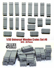 1/35 Scale resin kit  Wooden Crates #9 (20 Pieces) diorama tank lorry stowage