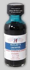 CANDY EMERALD GREEN ENAMEL - 1 oz. Alclad Airbrush Lacquer #708