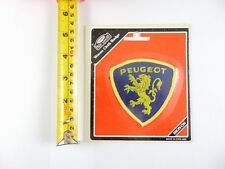 Genuine Original Peugeot  - Paddy Hopkirk 1960/70s Woven Cloth Patch  - Badge