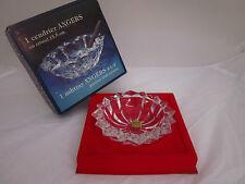 JG Durand Crystal D' Arques Florence France Crystal Ashtray, Pin Dish 1970's