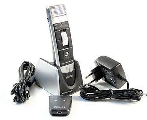 Philips LFH 3020 SpeechMike Air - kabelloses Diktiermikrofon mit Dockingstation