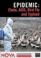 NOVA: Epidemic - Ebola, AIDS, Bird Flu and Typhoid DVD, ., Nova