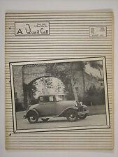 August 1963 A Quail Call Penn-Ohio Ford Model A Inc. Club Magazine