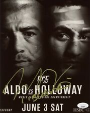 Max Holloway Hand Signed 8x10 Photo UFC Fighter JSA COA Autograph Poster Aldo