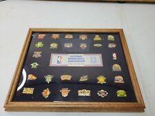 Peter David National Basketball Association NBA Team Pin Set