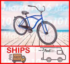 "Huffy ✅26"" Cranbrook Men's Beach Cruiser Comfort Bike Blue BRAND NEW✅SHIPS FAST✅"