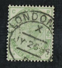 Ckstamps: Great Britain Stamps Collection Scott#103 Victoria Used Perf Spot Thin