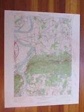 Mount Holyoke Massachusetts 1967 Original Vintage USGS Topo Map