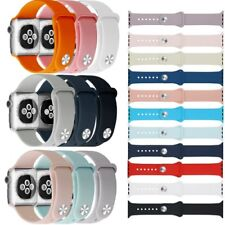 Silikon Sport Band Ersatz Armband Apple Watch 1 2 3 4